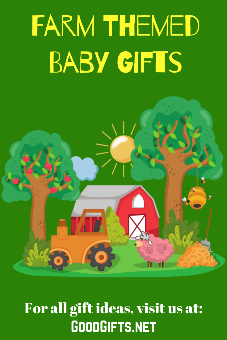 Farm Themed Baby Gift Ideas