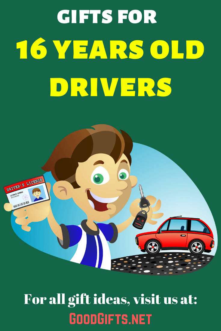 Gifts for 16 year old drivers
